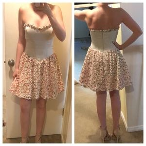 NWT Betsey Johnson Boutique Rosette Fit and Flare